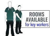 Rooms Available for Key Workers